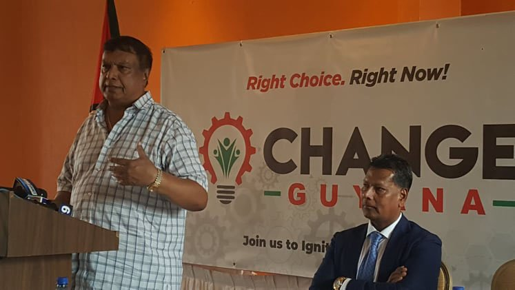 Change Guyana calls for Lowenfield to be removed from electoral process