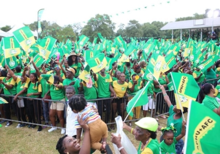 some-of-the-supporters-at-the-rally-at-berbice