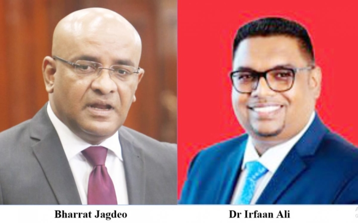 Jagdeo supports Ali's position on Exxon contract