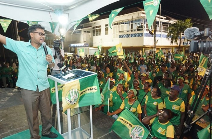 Big turnout in Region Four key to election victory -Granger in appeal for heavy voting