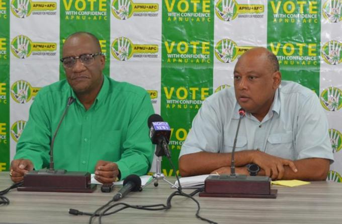 APNU+AFC condemns 'reckless, irresponsible' PPP statement