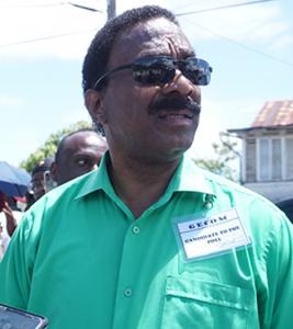 APNU AFC's Party Agent for the ECD, Attorney General Basil Williams