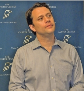 Chairman of the Board of Trustees of the Carter Center, Jason Carter