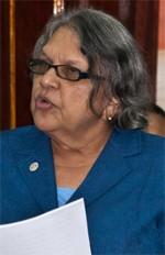 Commissioners Bibi Shadick