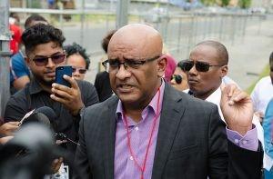 Leader of the Opposition Bharrat Jagdeo
