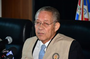 OAS Chief of Mission Bruce Golding