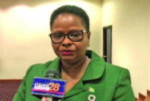 Public Health Minister Volda Lawrence