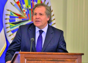 Re-elected Secretary General of OAS, Luis Almagro