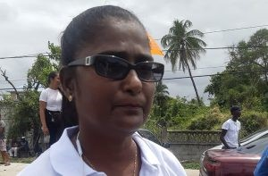 Sheila Veersammy, a candidate for the PPPC