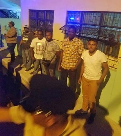 Ruckus outside of St Ambrose after men held over illicit firearms