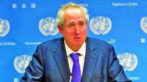 Spokesperson for United Nations Secretary General, Stéphane Dujarric