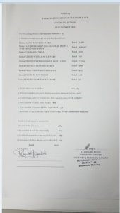 The Declaration made by Region 4 Returning Officer Clairmont Mingo for the General Elections, District 4