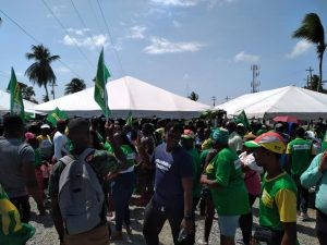 Be calm, have patience… Coalition challenges results in several regions- -Granger tells supporters