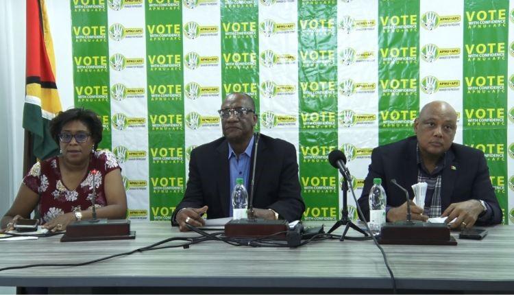 APNU+AFC satisfied with GECOM's electoral process