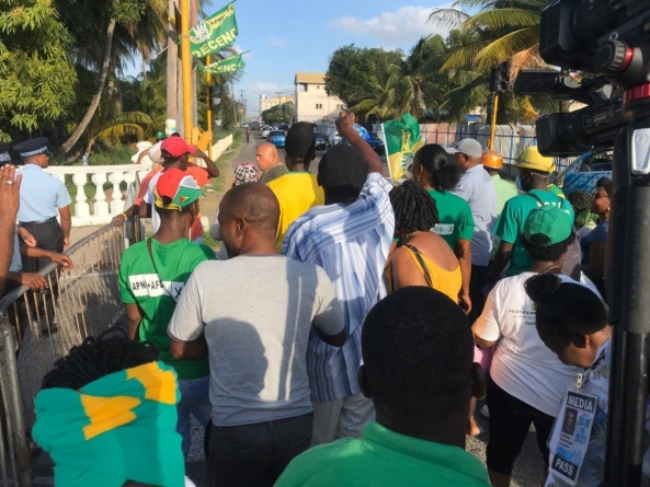 Reporters chased, assaulted by Coalition supporters attempting to enter GECOM H/Q