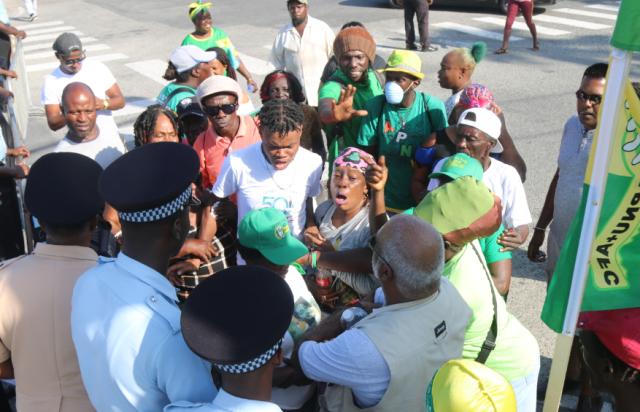 APNU/AFC supporters assault media workers, observers