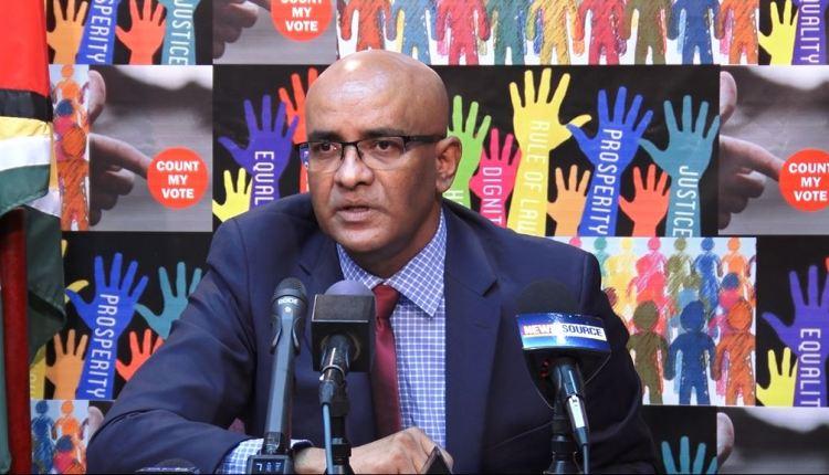 """Jagdeo raps coalition over """"duplicitous"""" stance on int'l sanctions"""