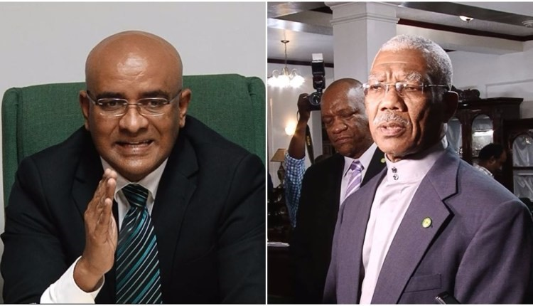 Granger, Jagdeo agree for CARICOM team to oversee recount in Region Four