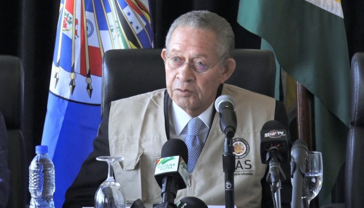 ELECTIONS 2020: OAS says modern tabulation systems needed for early declaration of results