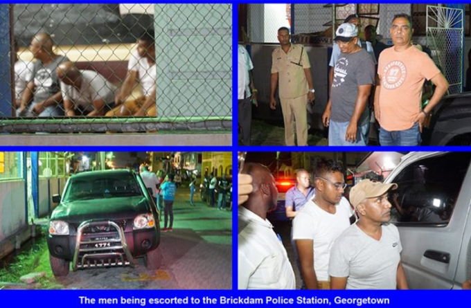 12 arrested in attempt to steal statements of poll