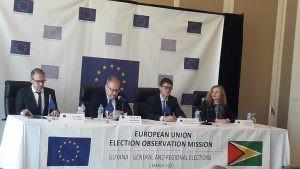 EU election observation mission slams APNU+AFC, PPP for lack of transparency on campaign financing