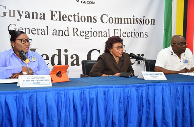 GECOM Commissioner wants stringent security measures to protect journalists covering elections