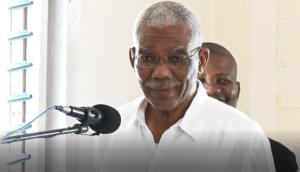 Caretaker President David Granger