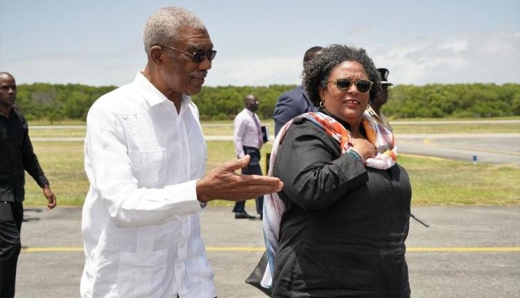 President Granger welcomes CARICOM leaders