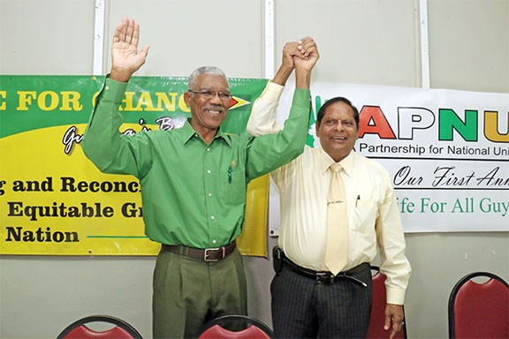 APNU+AFC says it supports recount even as its candidate resists it in Court