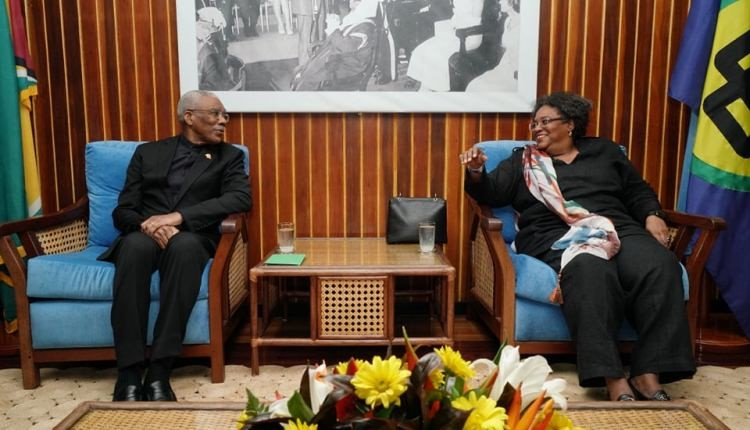 President reiterates respect for Constitution, rule of law in meeting with CARICOM leaders