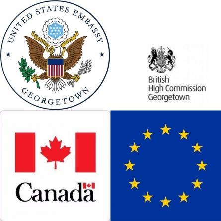 US, UK, EU, Canada envoys urge Granger to avoid transition of gov't