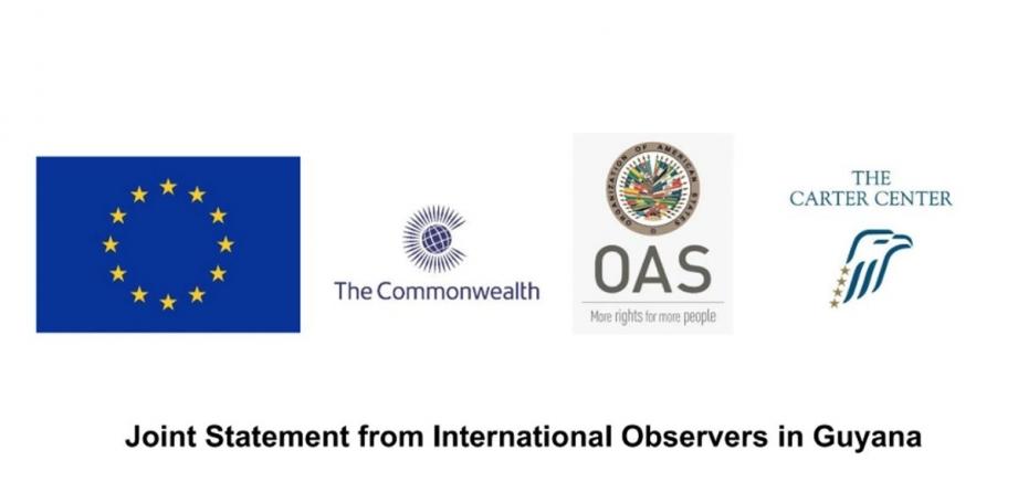 Int'l observers urge transparent tabulation of Region Four results