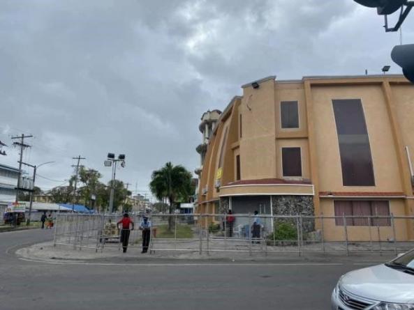 GECOM RO's Office on lockdown