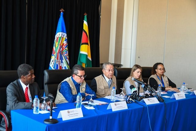 Breaking news! Election results unlikely to command public confidence, says OAS observer mission as it withdraws from Guyana