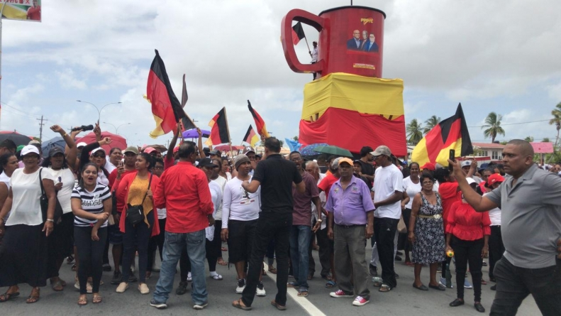 Watch: Protests over 'rigged' elections at Bath and Lusignan
