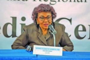 GECOM Chairwoman Justice Claudette Singh