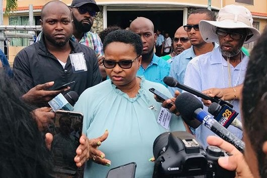 Volda Lawrence in face-off with rival party reps