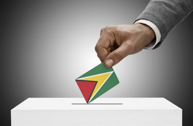 Not Guyanese, never registered, but 'can vote'