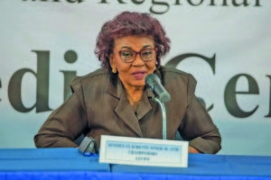 GECOM Chair, Retired Justice Claudette Singh