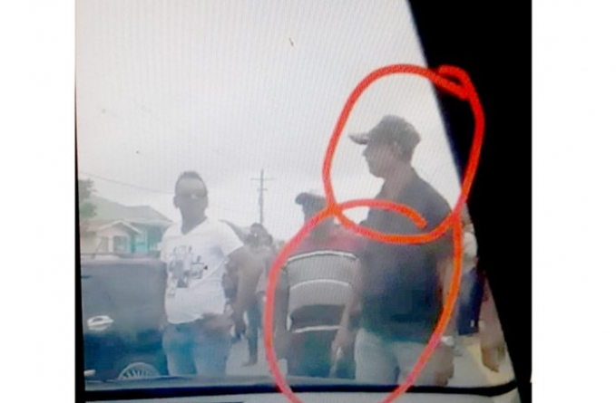 Man seen brandishing firearm at ECD protests arrested