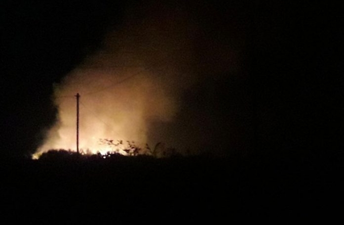 Fire swept through Providence Canefields