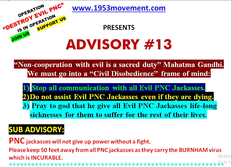 13-advisory