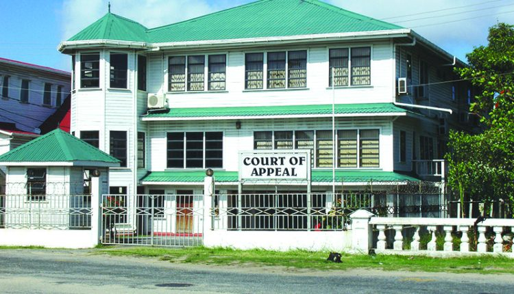 Appeal Court sets Saturday for hearing of APNU/AFC's challenge against CJ ruling