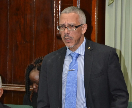 Dominic Gaskin makes final appeal to APNU+AFC: `You are losing political ground. You cannot win this battle. Find a way out today'.