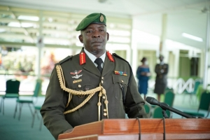 Chief of Staff (ag) of the GDF, Brigadier Godfrey Bess