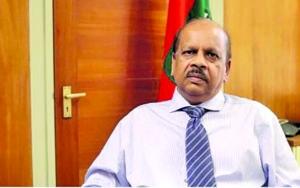 Governor of the Central Bank, Dr Gobin Ganga