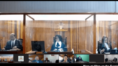 "Drama erupts over APNU/AFC's request for ""stay"" after Appeal Court dismisses Misenga Jones' appeal"
