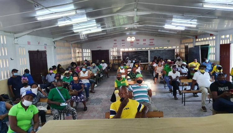 APNU+AFC, Public Security Minister flout COVID-19 regulations with public meetings