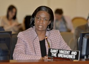 Representative of Saint Vincent and the Grenadines, Lou-Anne Gaylene Gilchrist