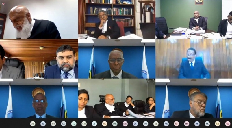 CCJ judges press counsel on jurisdiction question, decision set for Wednesday
